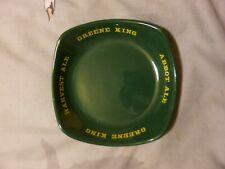 Vintage Greene King 1799 Pub Breweriana 1980s Fine Ales circular beer tray