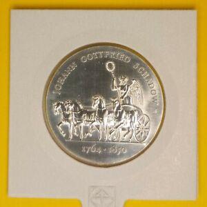 DDR 10 Mark 1989 Johann Gottfried Schadow Jaeger-Nr. 1629 Silber (kl. Kratzer)