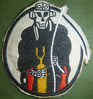 Flight Patch - USAAF - 375th BOMB - GRIM REAPER - US ARMY AIR FORCE - WWII, 6244