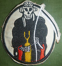 Flight Patch - USAAF - 375th BOMB - GRIM REAPER - US ARMY AIR FORCE - WWII, 1158