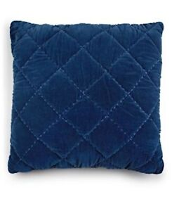 """Whim by Martha Stewart Collection Quilted Velvet 26"""" Square Decorative Pillow"""