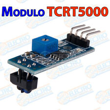 Tcrt 5000 reflectante Infrared ir cerco visualmente sensor Rasp switch Pi
