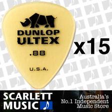 15 x Jim Dunlop Standard Ultex .88mm Picks Plectrums 88-ULT 421R *15 PICKS*