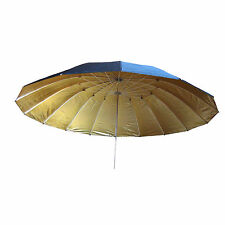 "Large Gold Golden Black Studio Umbrella UR 71"" 180cm  Reflector Softbox Soft Box"