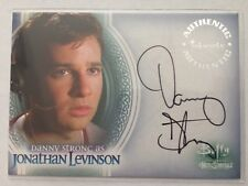 Danny Strong as Jonathan Levinson Buffy Men of Sunnydale Autograph Card Auto #A6