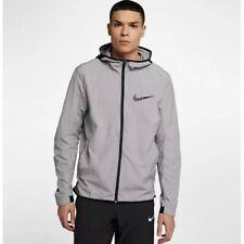 Nike Mens Basketball Jacket Showtime 890666-027 Atmosphere Medium Grey/Black/Bla