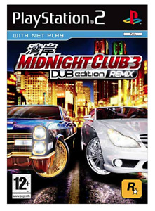 Midnight Club 3: Dub Edition Remix - Livret non Inclus - Playstation 2 - TBE