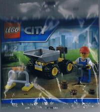 Lego City Bauarbeiter Dumper Polybag 30348 Neu