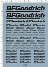 All Scale 1/24 1/18 1/43 1/10 1/20 1/12 BF Goodrich Model Kit Water Slide Decal