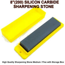 "8"" (200mm)High Quality Blade Sharpening Sharpener Oilstone With FREE Storage Box"