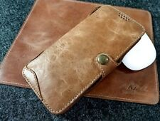 Akira Handmade Genuine Leather Case For Sansung,Huawei,Google ID Card Wallet D