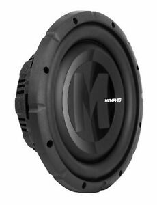 "Memphis PRXS1040 700 Watt 10"" Shallow Mount 4-Ohm Car Audio Subwoofer Stereo Sub"
