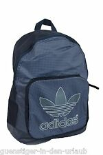 adidas Rucksack Daypack Backpack blau kariert