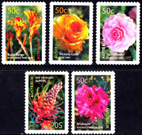 Australia 2003 Flowers - Australian Cultivars  Complete Set of Stamps P Used S/A