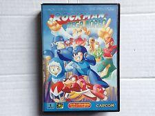 Sega Mega Megadrive Game rock Mega Man World Authentic Japan Ntsc J authentic