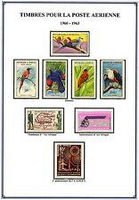 1960 - 1991  AFRIQUE  SENEGAL  POSTE  AERIENNE  NEUFS ** MNH  Y&T n° 31 - 165
