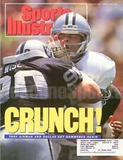 1990 Troy Aikman &  Mike Wise L.A. Raiders Dallas Cowboys Sports Illustrated