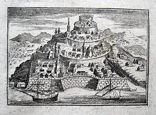 NAFPAKTOS BELAGERUNG LEPANTO 1687 OR.-KUPFERSTICH GRIECHENLAND ΝΑΎΠΑΚΤΟΣ GREECE