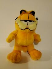 Garfield The Cat Plush Vintage Happy Expression