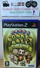 """SUPER MONKEY BALL DELUXE""  PS2 PAL ESP. COMPLETO"
