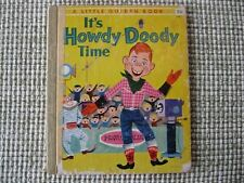 VINTAGE 1955 LITTLE GOLDEN BOOK #233 IT'S HOWDY DOODY TIME