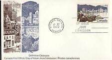 Canada - Vancouver Skyline - 600 U/A Fdc - Canada Po Cachet - 1972