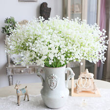 Artifical Fake Gypsophila Floral Silk Flower Bouquet Home Wedding Party Decor UK