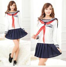 À manches style japonais robe d'écolière, uniforme, taille s-m