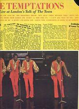 TEMPTATIONS live at london's talk of the town US EX LP 1970 GORDY REC