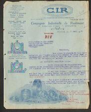 """TOULOUSE (31) ROULEMENTS à BILLES pour AUTOMOBILE Fiat Ford ... """"C.I.R."""" 1930"""