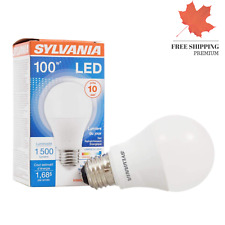 ?? Sylvania 100W Equivalent LED Light Bulb A19 Lamp 1 Pack Daylight Energy ...