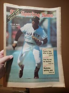The Sporting News July 17, 1971 Willie Mays San Francisco Giants No Label
