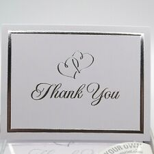 2 Boxes of Thank You Cards Hearts Wedding Wilton 158 Total Cards