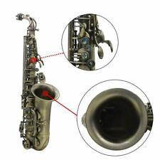 Saxophon ammoon Antikfinish Bend Eb Es-Dur-Alt-Sax Abalone Shell Blasinstrument