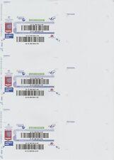 54 Etiquettes Suivi International stickers internationaux lettre suivie La Poste