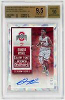 D'ANGELO RUSSELL 2015 Contenders Draft Picks Cracked Ice Ticket #112A AUTO RC