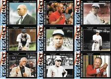 2008 TOPPS HERITAGE HEROES OF SPORT (15) CARD LOT   FREE COMBINED S/H
