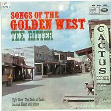 Tex Ritter - Songs Of The Golden West - LP Vinyl Record