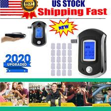 Digital Breath Blood Alcohol BAC Tester Blow-In Breathalyzer Digital Device US