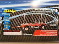 "Carson/Tamiya 500907622 1/14 vehicle construction  2-axle stake trailer ""NEW"""