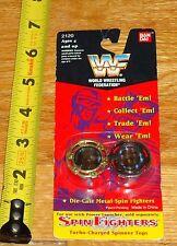 1994 WWF WWE Spin Fighters Lex Luger Ludvig Borga Wrestling Tops MOC WWF WWE