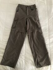 Boy Scouts of American Uniform Switchback Convertible Shorts Pants • Youth Small