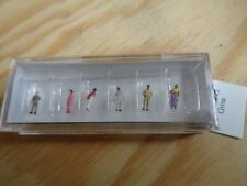 1:200 Preiser 80902 Non-European Traveler figures. orig. Packaging