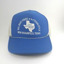 cdf58ce0039e3 Vintage Wal-Mart Hat Distribution Center New Braunfels Texas  6016 Pride  Style