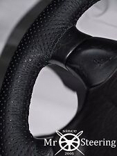 FOR NISSAN SILVIA S12 83+ PERFORATED LEATHER STEERING WHEEL COVER DOUBLE STITCH