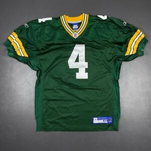 100% Authentic Brett Favre Reebok Packers Jersey Size 48 XL Mens