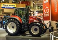 A3 Fiat Fiatagri New Holland Centenarian T5 115 Tractor Brochure Poster