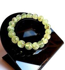 Bracelet en Pierre Naturelle Lithothérapie Minéraux Phrénite Bijoux Pour Femme