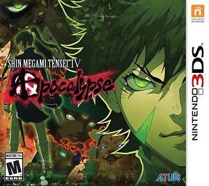 Shin Megami Tensei 4 IV: Apocalypse [Nintendo 3DS, JRPG, Collect Monsters] NEW