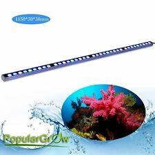 Waterproof IP65 108W LED Aquarium light strip bar Coral reef Fish Tank lighting